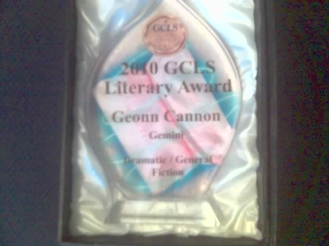 My GCLS Trophy for Gemini
